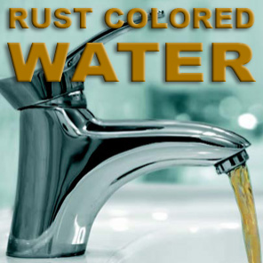 Rust Colored Water