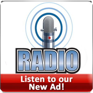 Click to listen to our radio commercial
