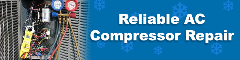 AC Compressor Repair Banner