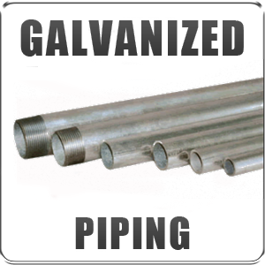 Galvanized Pipe Replacement